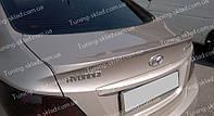 Спойлер Хендай Акцент 4 (спойлер на крышку багажника Hyundai Accent 4)