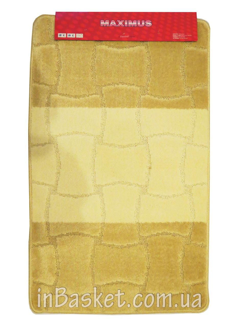 """Комплект ковриков для ванной  """"Biege horizon"""""""