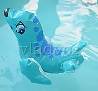 Надувная игрушка intex 58590 морской котик бирюза