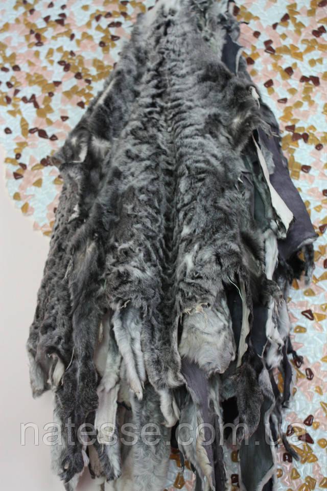 """каракульча цвета """"серебро"""" наборы на шубу, пальто, жилет"""