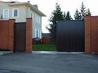Консольный комплект для откатных ворот+зубчатая рейка,проем до 4х метров с  итальянской автоматикой COMUNELLO