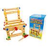 Деревянный конструктор - стульчик