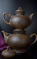 Чайный набор Карачун, красная глина