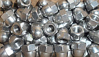 Колпачковая гайка М4 ГОСТ 11860-85, DIN 1587 из нержавеющих сталей А2 и А4
