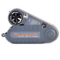 Карманный анемометр с электронным компасом Az Instrument 8996