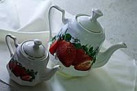 Чайная пара Клубничка