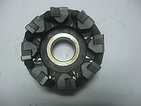 Фреза дисковая с механическим креплением пластин 100х50х32 Z8- 4граная  ВОК пластин