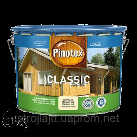 Деревозащитное средство PINOTEX CLASSIC Пинотекс Классик ОРЕХ 10л