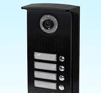 Вызывная панель на 4 абонентов DRC-4D BQ