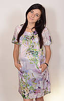 Платье для беременных из шелка