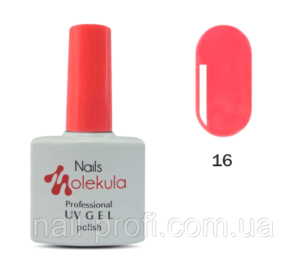 Гель-лак Nails Molekula Professional №16 Персиковий
