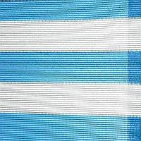 Затеняющая сетка 85% SOLEADO 50*2м бело-голубой (Италия), фото 1