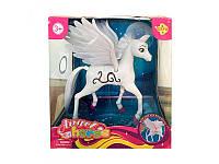 """Лошадка Defa """"Ангел"""" 8325 с крыльями, 23 см"""