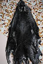 Каракульча swakara темно серого цвета с серебром