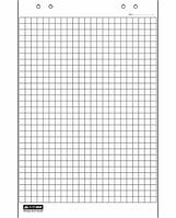 Бумага для флипчарта Клетка. блок, 10л.