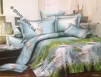 Постельный комплект двойной Comfort Lux с 3D эффектом (арт. 13016)