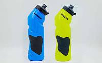 Бутылка для воды спортивная FI-5166 750мл LEGEND (PE, силикон, цвета в ассортименте)