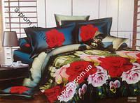 Постельный комплект евро Comfort Lux - 3D (арт. 13031)
