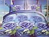Постельный комплект евро Comfort Lux - 3D (арт. 14199)