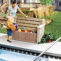 Контейнер для игрушек Скамья со Спинкой Step2 5433