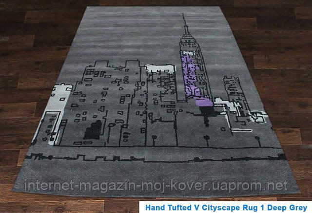 Купить ковер Hand Tafted - V Cityscape Rug deep-grey