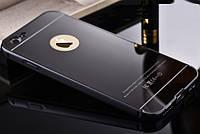 Чехол бампер для iPhone 4 4S зеркальный Брак