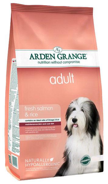 Корм для собак с лососем и рисом Arden Grange Adult Salmon & Rice