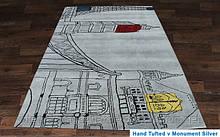 Купити килим Hand Tafted - V Monument silver