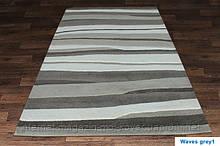 Купити килим Hand Tafted - Waves grey