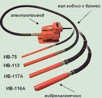 Вибратор глубинный ИВ 116