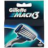 Лезвия Gillette Mach 3, 2 шт