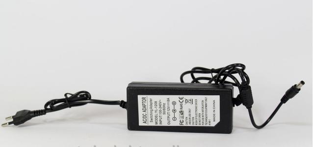 Адаптер 12V 8A (роз'єм 5.5*2.5 mm) Пластик