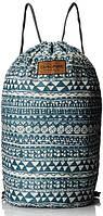 Женский рюкзак-мешок для прогулок Dakine STASHABLE CINCHPACK 19L mako 610934903652 синий/белый