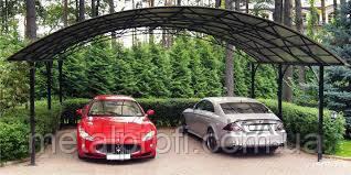 Навесы для автомобилей из поликарбоната