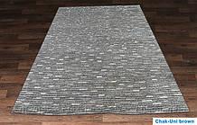Купити вязаний килим Hand Knotted - Chak uni brown Килим Hand Knotted з вовни