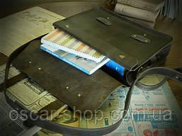 Сумка-портфель из натуральной кожи «Crazy horse»