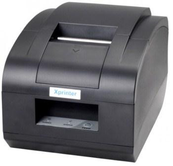 Термо принтер для чеков XPrinter XP-T58NС (USB)