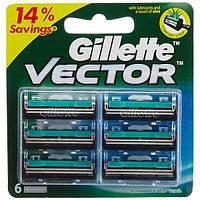 Кассеты Gillette Vector 6 шт
