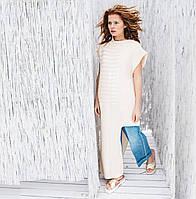 Платье-жилет цвет ваниль