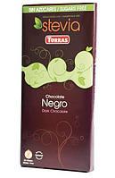 Шоколад горький Torras Stevia Negro, без сахара 100 г