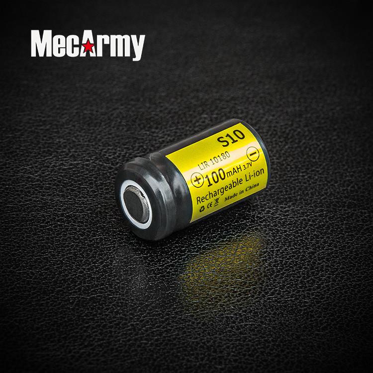 Аккумулятор MecArmy Li-ion 10180 3,7v 100mAh
