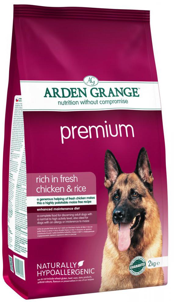 Корм для взрослых собак Arden Grange Premium Chicken & Rice
