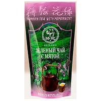 """Чай ТМ Верблюд """"Зеленый с мятой"""""""