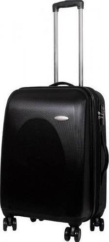 Функциональный чемодан на 4-х колесах 66/78 л Vip Collection Galaxy 24 Black G.24.black, черный