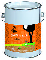 Масло для паркета натуральное Loba HS K Impakt Oil 2.5 л,  двухкомпонентное