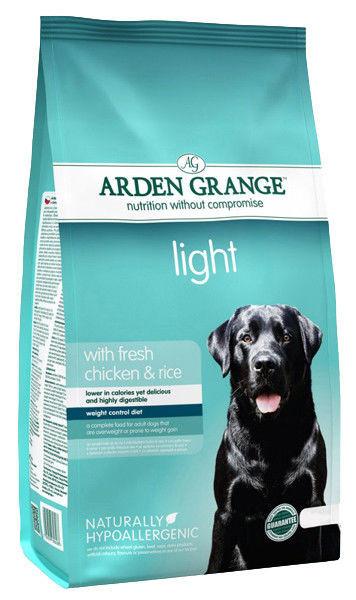 Корм для собак с лишним весом Arden Grange Light