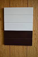 Двухцветная покраска фасадов МДФ