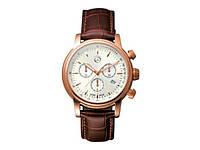 Мужские наручные часы Mercedes Men's Classic Retro Gold Chronograp Watch, артикул B66043324