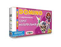 """Игра Домино Развивающие карточки для детей """"Герои мультфильмов"""""""