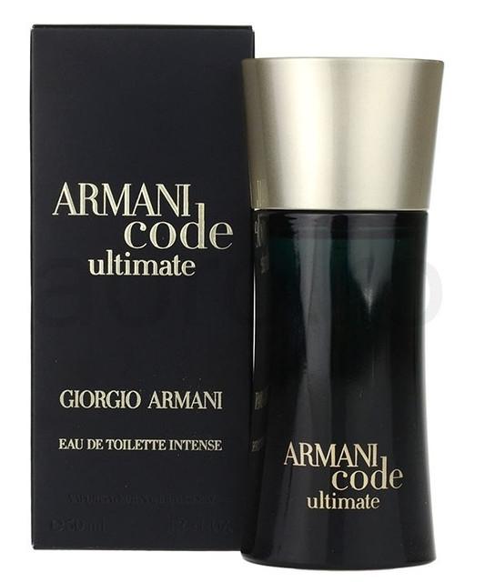 Мужская туалетная вода оригинал Armani CODE ULTIMATE EAU DE TOILETTE INTENSE 50 ml NNR ORGAP /08-64